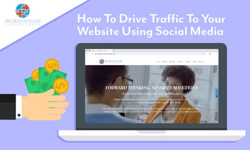How to drive traffic to your website using social media